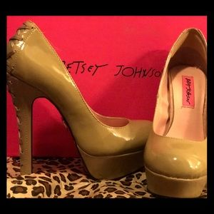 Betsy Johnson pink bottoms